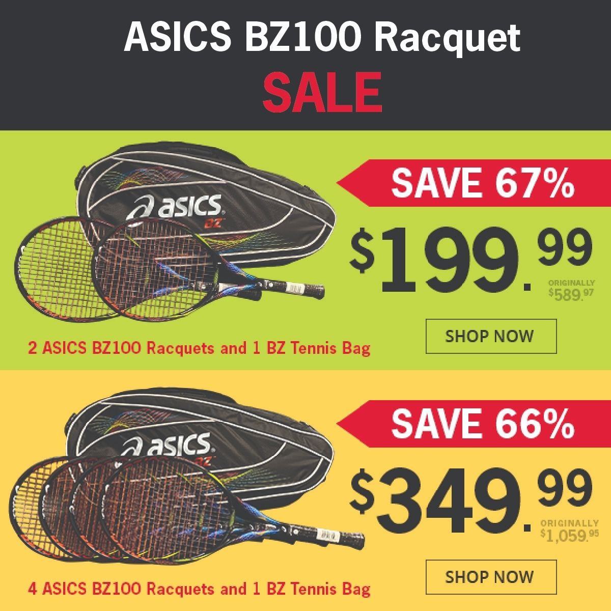 The Best Deal You'll Find on a Graphite Tennis Racquet